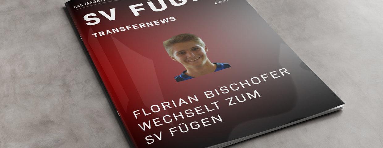 Florian Bischofer wechselt zum SV Fügen